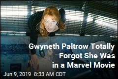 Gwyneth Paltrow Totally Forgot She Was in a Marvel Movie