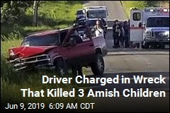 Driver Charged in Wreck That Killed 3 Amish Children