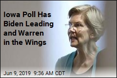 Iowa Poll Has Biden Leading and Warren in the Wings