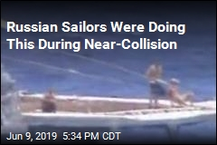 Russian Sailors Were Doing This During Near-Collision