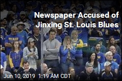 Newspaper Accused of Jinxing St. Louis Blues