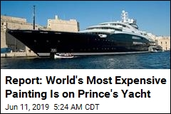 Report: Prince Is Keeping $450M da Vinci on His Yacht