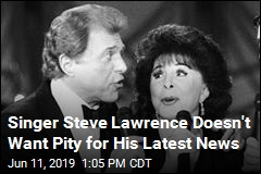 Singer Steve Lawrence Doesn't Want Pity for His Latest News
