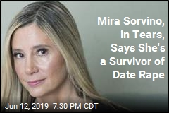 Mira Sorvino, in Tears, Says She's a Survivor of Date Rape