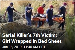 Serial Killer's 7th Victim: Girl Wrapped in Bed Sheet