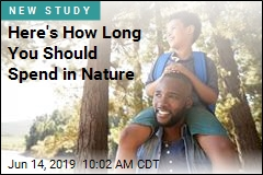 2 Hours a Week in Nature May Pay Benefits