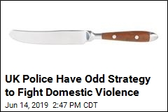 UK Police Have Odd Strategy to Fight Domestic Violence