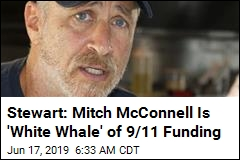 Stewart: Mitch McConnell Is 'White Whale' of 9/11 Funding