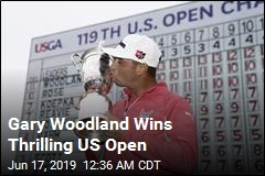 Woodland Holds Off Koepka, Wins US Open