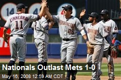 Nationals Outlast Mets 1-0