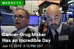 Cancer-Drug Maker Has an Incredible Day
