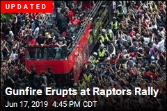 Gunfire Erupts at Raptors Rally