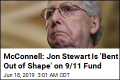 McConnell: Stewart Is 'Bent Out of Shape' on 9/11 Fund