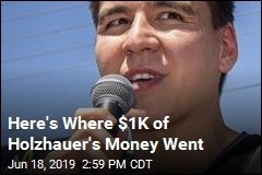 Here's Where $1K of Holzhauer's Money Went