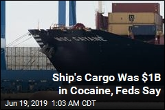 Ship's Cargo Was $1B in Cocaine, Feds Say