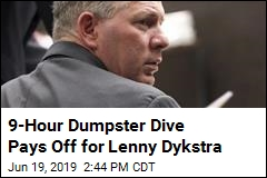 9-Hour Dumpster Dive Pays Off for Lenny Dykstra
