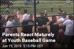 Parents React Maturely at Youth Baseball Game