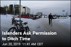 Islanders Ask Permission to Ditch Time
