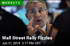 Wall Street Rally Fizzles