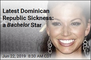 Latest Dominican Republic Sickness: a Bachelor Star