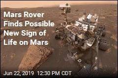 Mars Rover Finds Possible New Sign of Life on Mars
