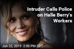 Man Tries Stealing Halle Berry's Home