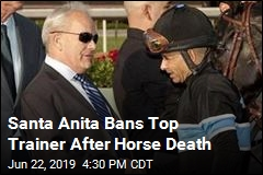 Hall of Fame Trainer Banned at Santa Anita