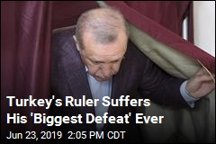 Turkey's Ruler Suffers His 'Biggest Defeat' Ever