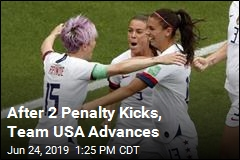 After 2 Penalty Kicks, Team USA Advances