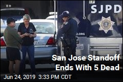 San Jose Standoff Ends With 5 Dead