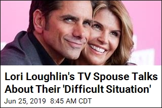 Lori Loughlin's TV Spouse Talks About Their 'Difficult Situation'