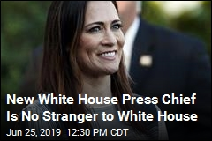 New White House Press Chief Is No Stranger to White House