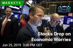 Stocks Drop on Economic Worries