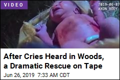 After Cries Heard in Woods, a Dramatic Rescue on Tape