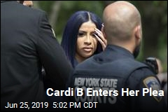 Cardi B Enters Her Plea