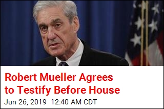 Robert Mueller Agrees to Testify Before House
