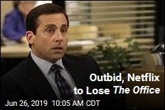 Outbid, Netflix to Lose The Office