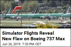 New Boeing 737 Max Flaw Surfaces in Simulator Flights