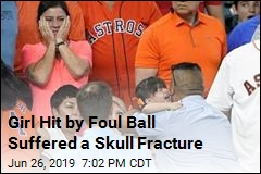 Girl Hit by Ball Suffered Skull Fracture, Had a Seizure