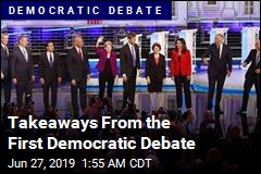 Takeaways From the First Democratic Debate