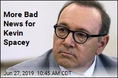 More Bad News for Kevin Spacey