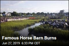 Fire Claims Famed Horse Barn but Causes No Injuries