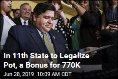 In 11th State to Legalize Pot, a Bonus for 770K