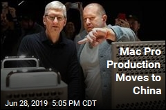Mac Pro Production Moves to China