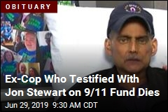 Ex-Cop Who Testified With Jon Stewart on 9/11 Fund Dies