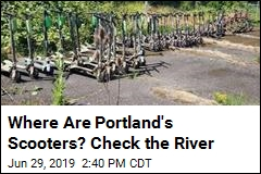 Portland Cops Pull Dozens of E-Scooters From River