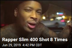 Rapper Slim 400 Shot 8 Times