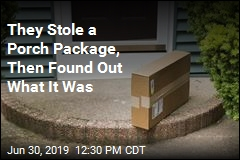 They Stole a Porch Package. Then They Found Out What It Was
