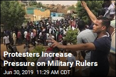 Protesters Demand Civilian Rule in Sudan
