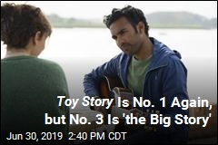 Toy Story Is No. 1 Again, but No. 3 Is 'the Big Story'